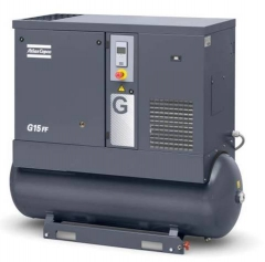 Atlas Copco Screw Compressors are available from Cleveland Spray Booth