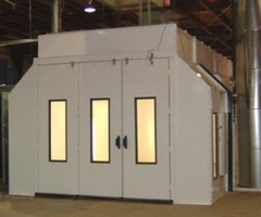 Col-Met EPD 26SB Spray Booth available at Cleveland Spray Booth Specialists