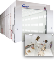 Garmat Industrial Spray Booths are available at Cleveland Spray Booth Specialists