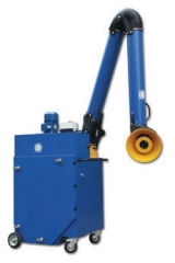 Rollout Portable Fume Extraction System for Spray Booths is available at Cleveland Spray Booth Specialists
